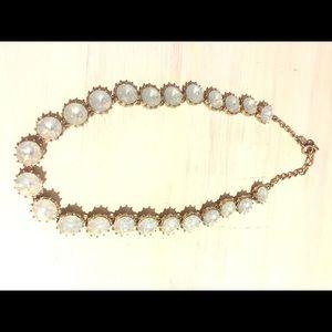 Loft gemstone statement necklace